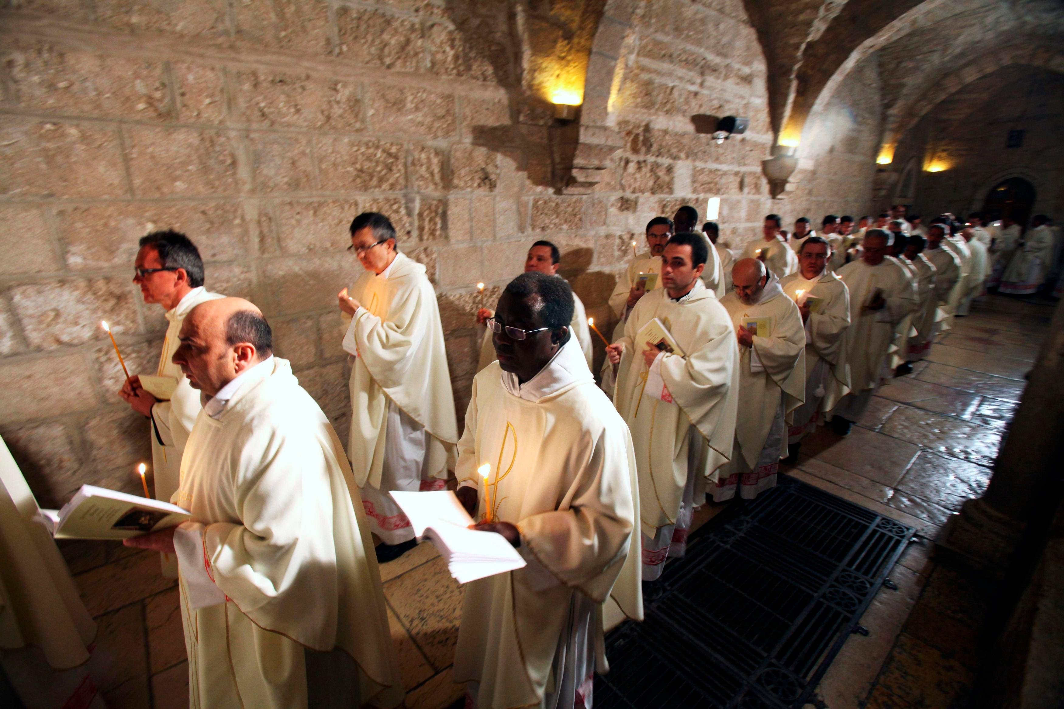 Christmas celebrations underway in Bethlehem