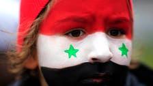 Syrian artists turn to black humor to mark Christmas