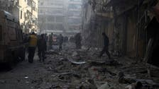 شامی فوج کی فضائی بمباری سے117 بچوں سمیت 400 ہلاک