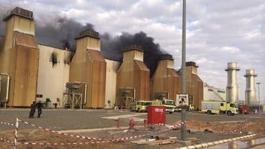 """""""الدفاع المدني"""" يسيطر على حريق بشركة كهرباء حائل"""