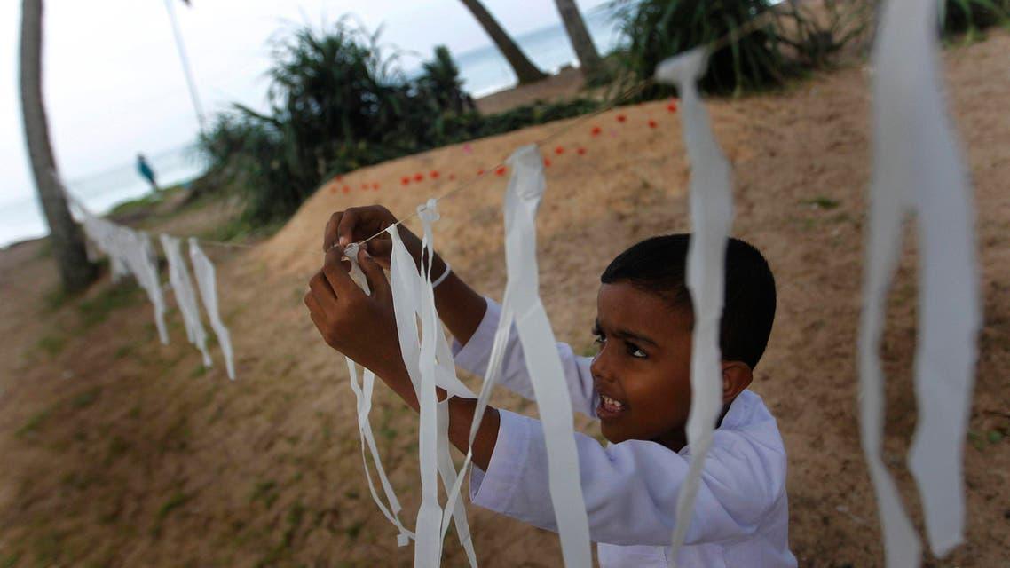 Asian tsunami disaster anniversary