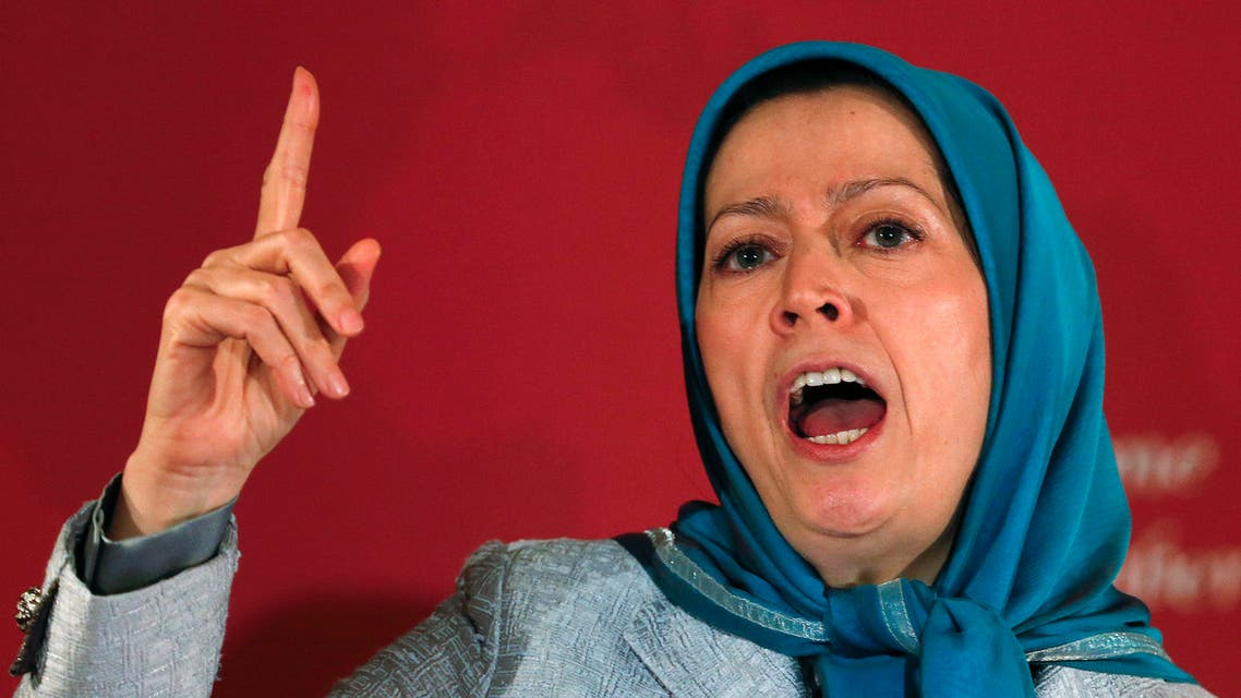 Maryam Rajavi, president-elect of the National Council of Resistance of Iran, speaks during an international meeting in Rome December 19, 2013.