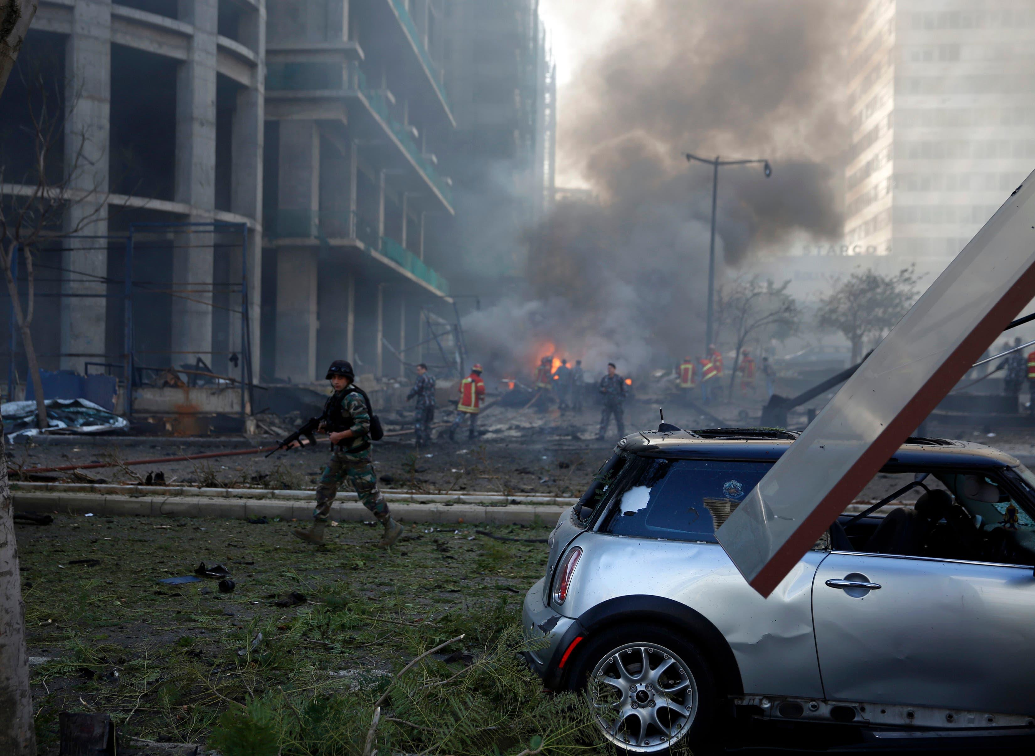 Blast in Beirut kills adviser to former Lebanese premier