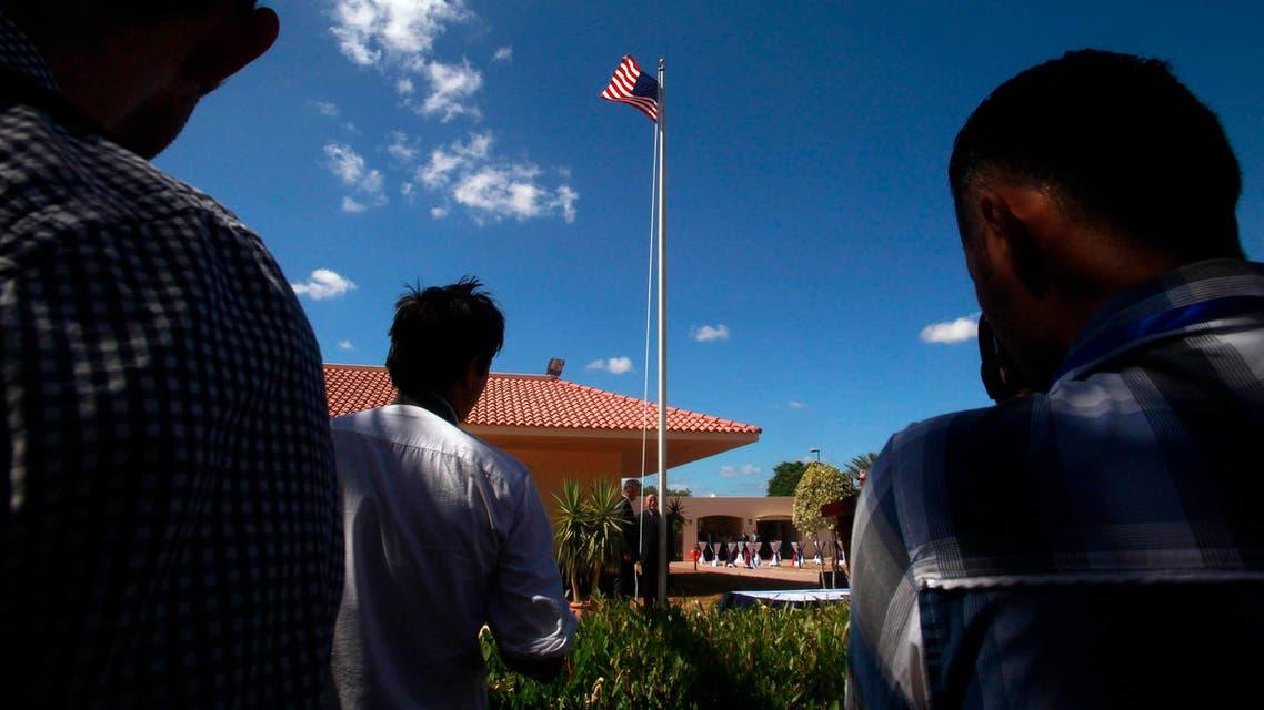 tripoli embassy reuters libya