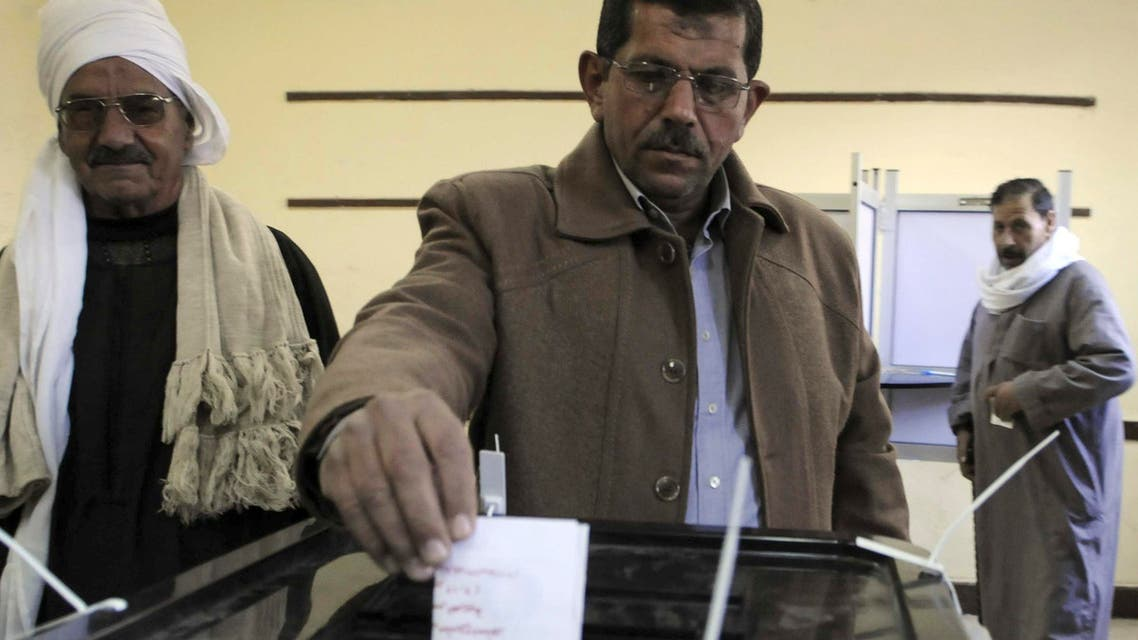 Al Sied Mursi, brother of Egypt's President Mohamed Mursi, casts his vote during a referendum on the new Egyptian constitution, at a polling station at al-Adwa village in Zagazig harqiya Governorate, on Dec. 15, 2012. (File photo: Reuters)