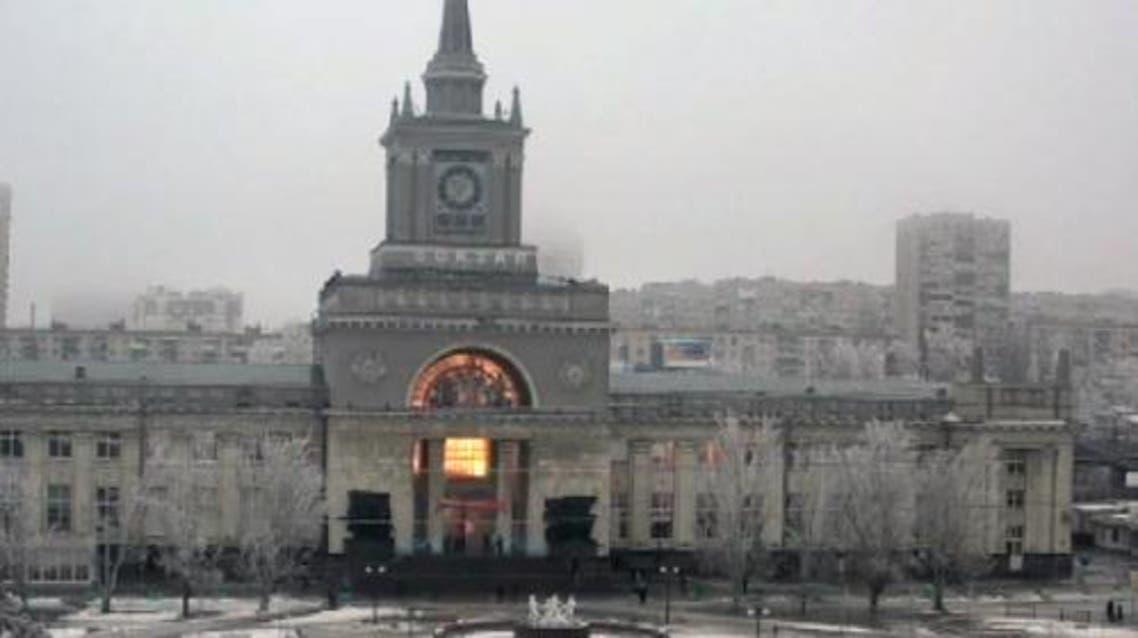 انفجار محطة القطار في روسيا