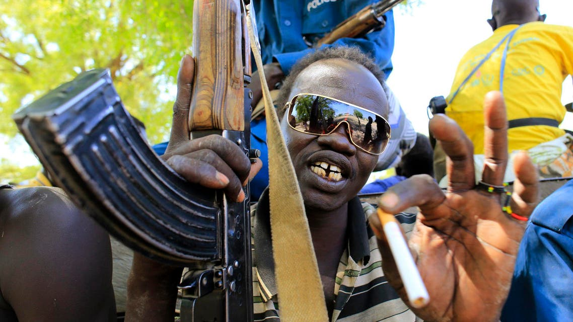 A South Sudan army soldier pictured in Bor, which has become a focus of a power struggle between President Salva Kiir and former vice president Riek Machar. (Reuters)
