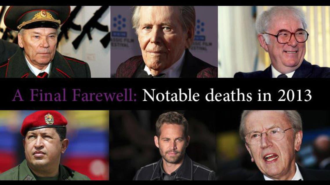 A Final Farewell: Notable deaths in 2013