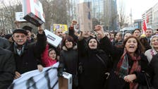 Turkish woman detained over shoebox protest