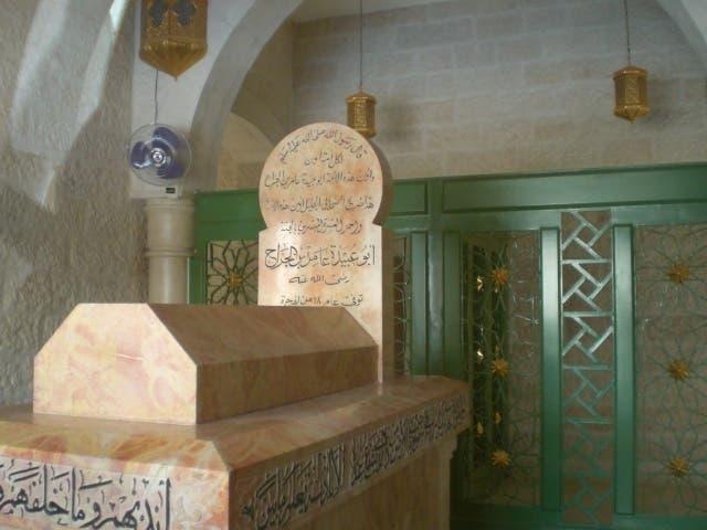 ضريح الصحابي أبو عبيدة في وادي الأردن