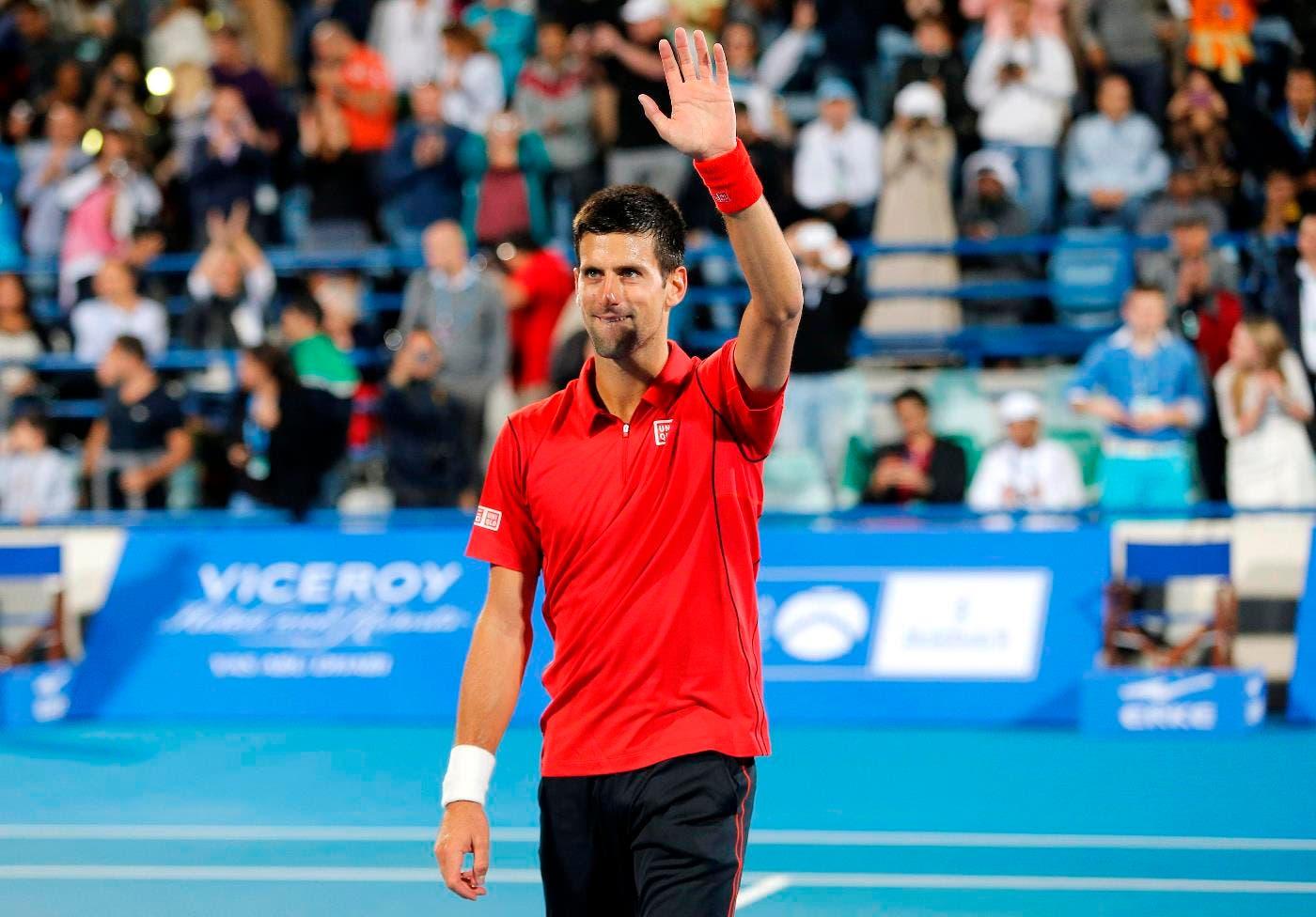 Tennis championship in Abu Dhabi