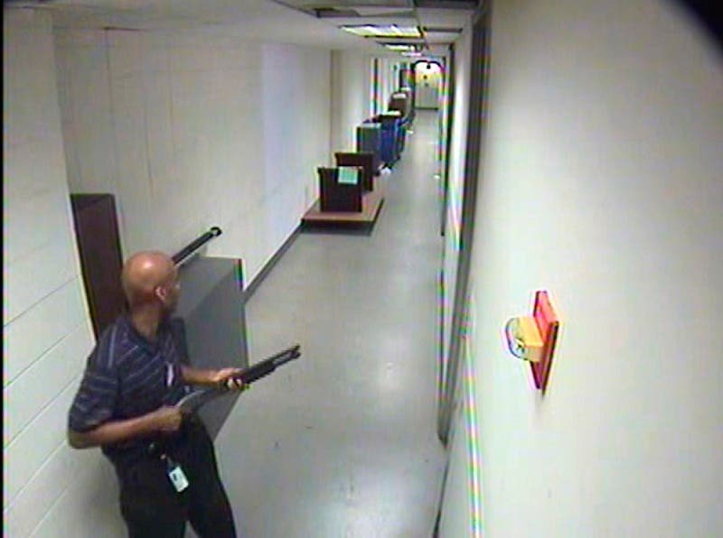 A Washington Navy Yard was targeted by a shooter