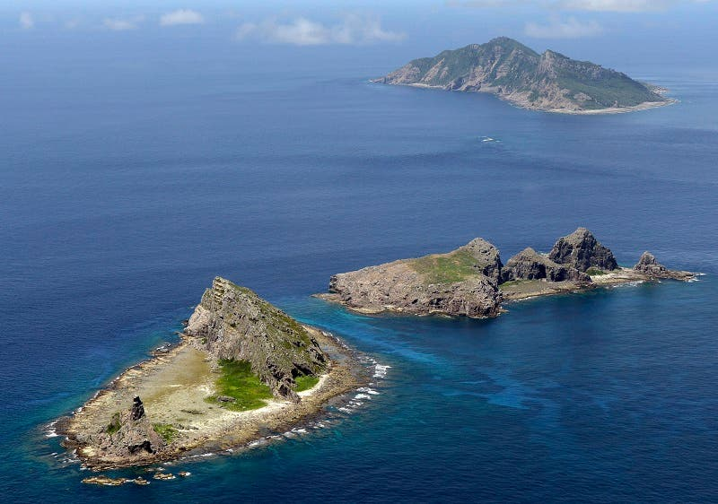 Islands were contested by China and Japan