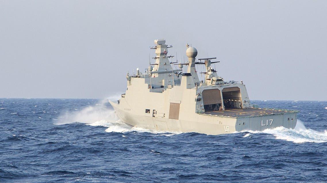 سفينة تابعة للبحرية الدانماركية