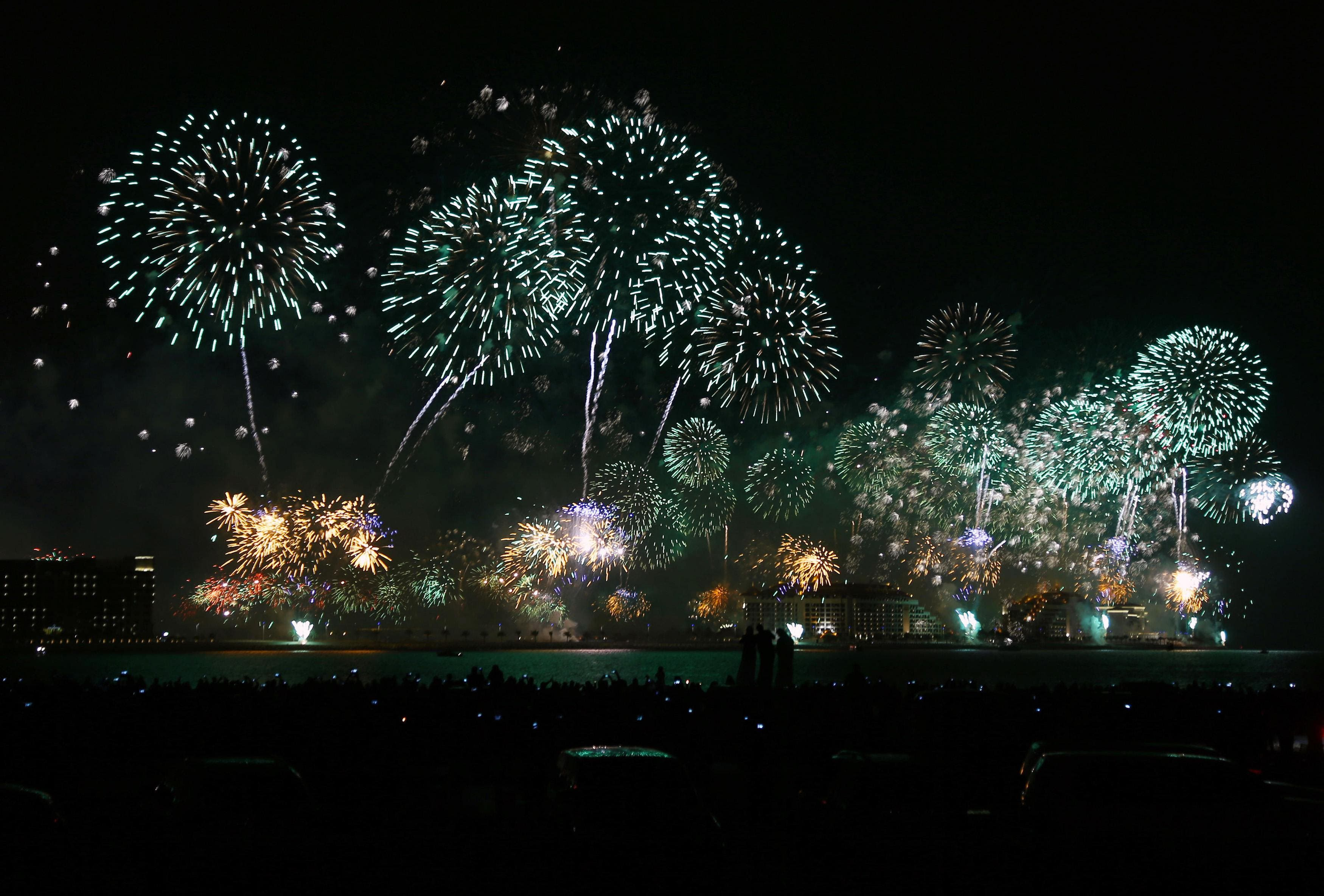 Dubai's New Year Fireworks