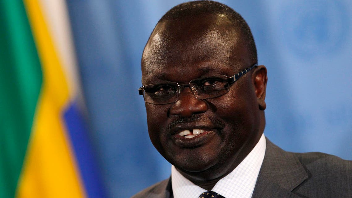 Riek Machar (Real one) (Reuters)