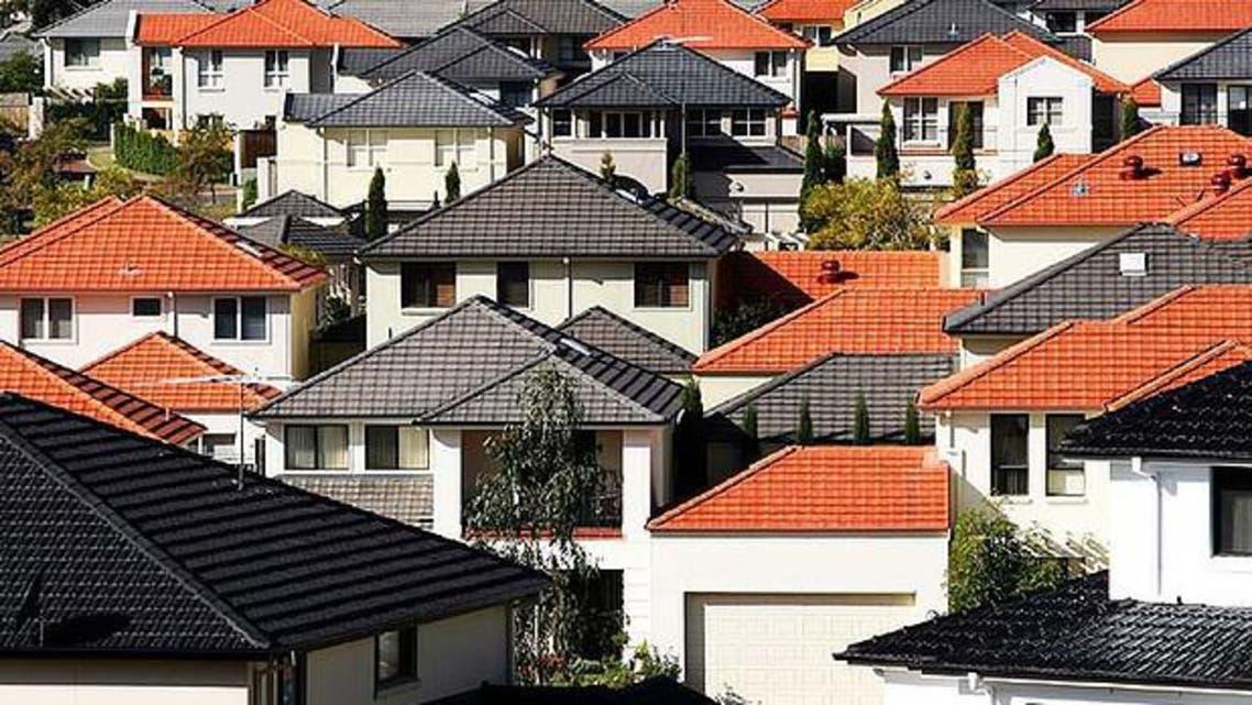 المساكن في أستراليا