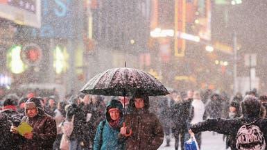 إعلان الطوارئ في نيويورك ونيوجيرسي بسبب عاصفة ثلجية