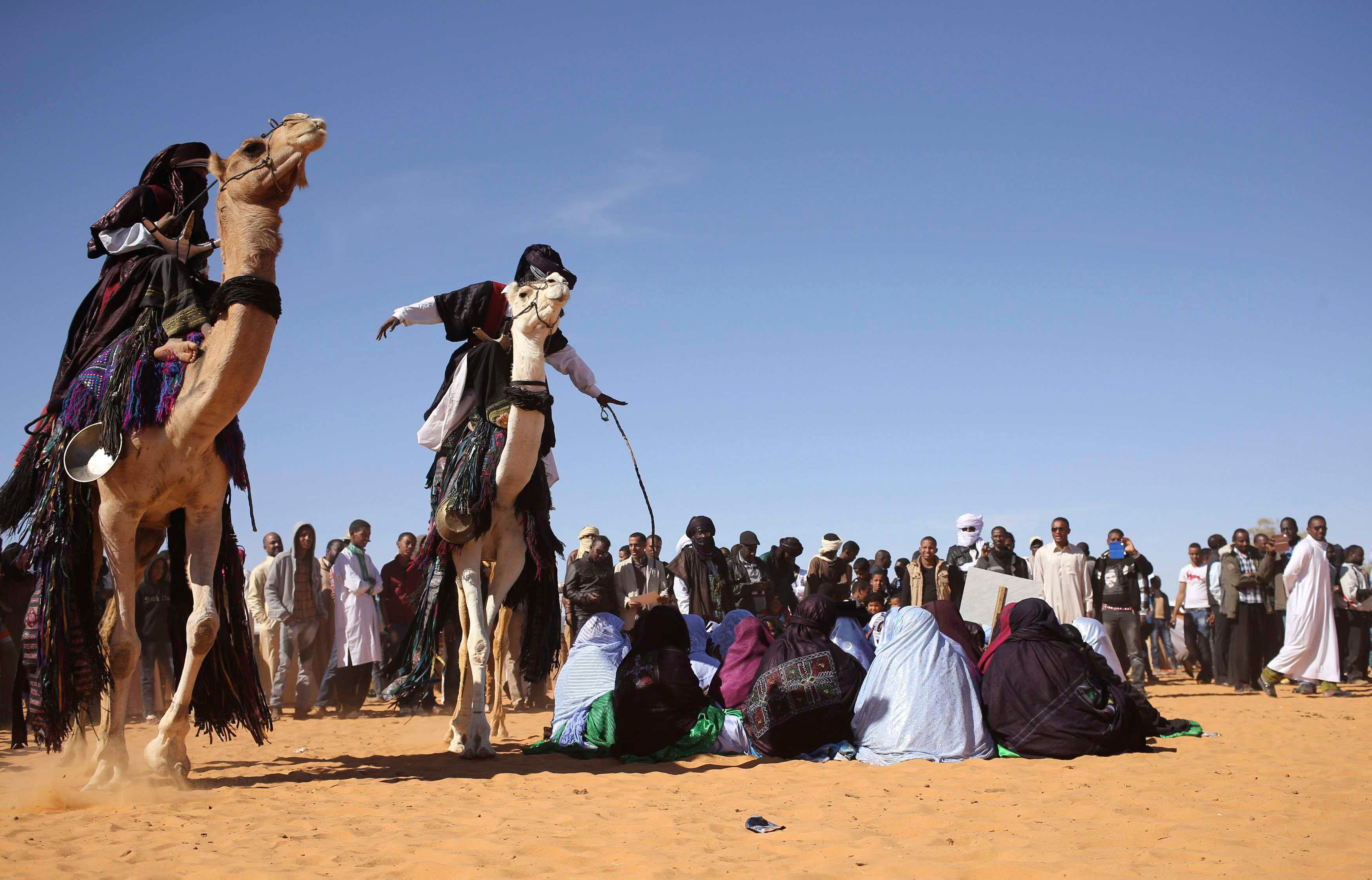 Libya's Ghat festival in the desert