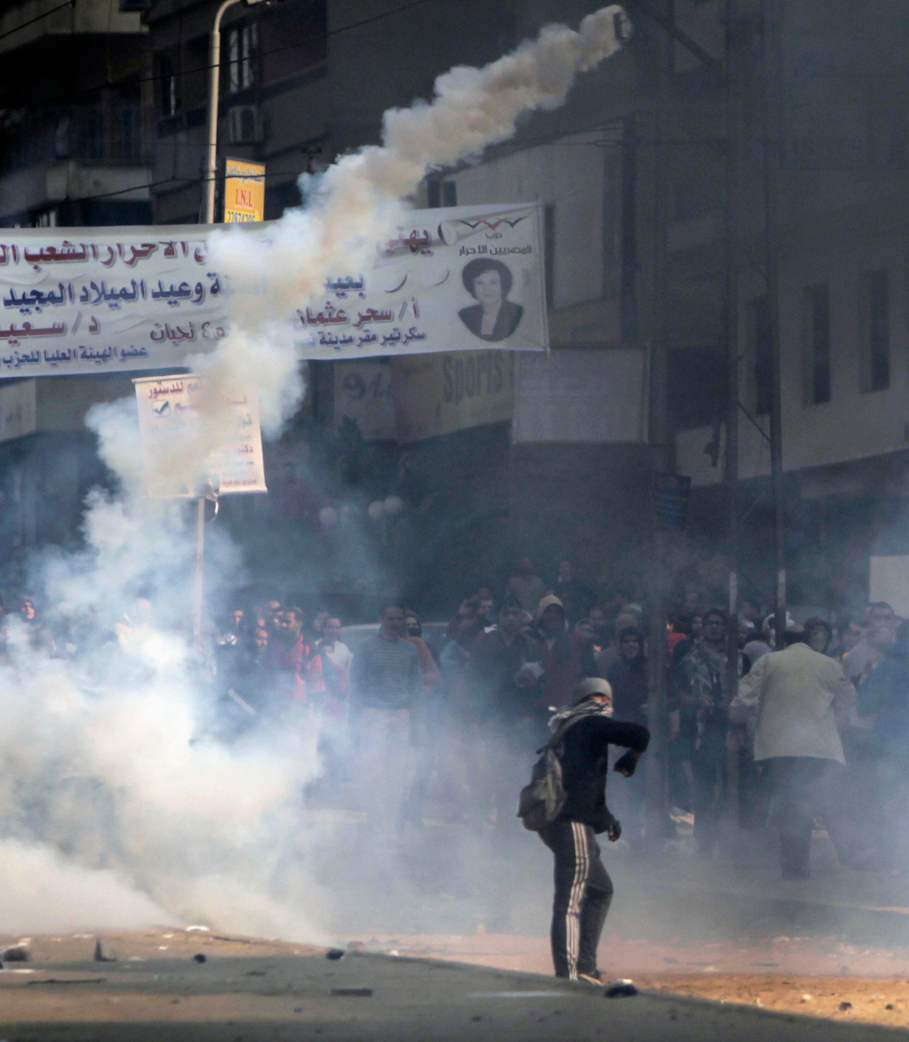 Egypt protests rage on