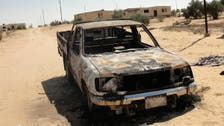 Officials: Egypt soldier killed in Sinai bombing