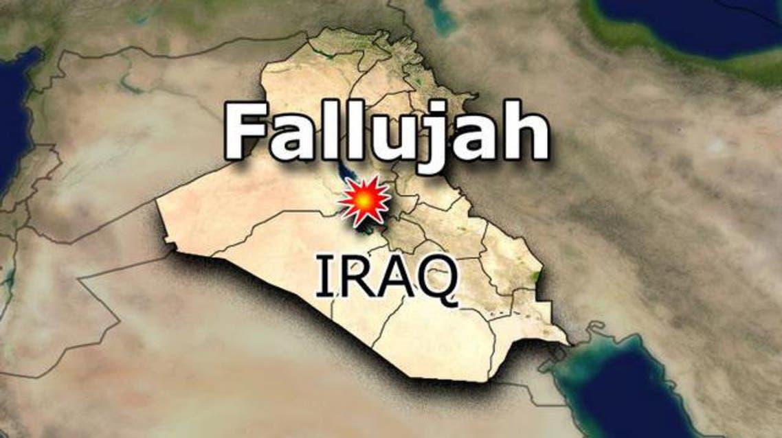 fallujah map