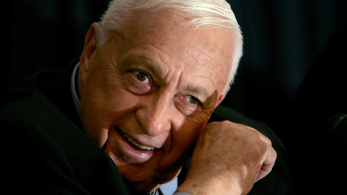 Israeli Prime Minister Ariel Sharon speaks to the media during a news conference in Tel Aviv December 1, 2005 reuters