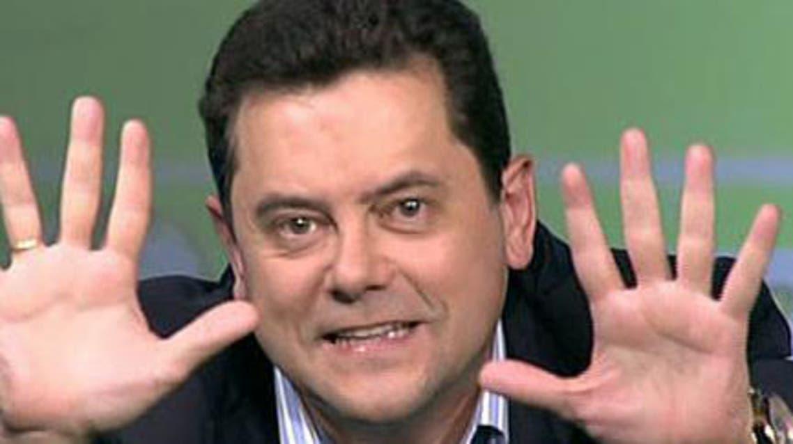 الصحافي المدريدي الشهير توماس رونثيرو