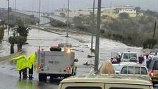 Heavy rains lash Saudi Arabia, United Arab Emirates