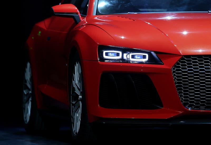 تصور اولي لسيارة من شركة اودي الالمانية