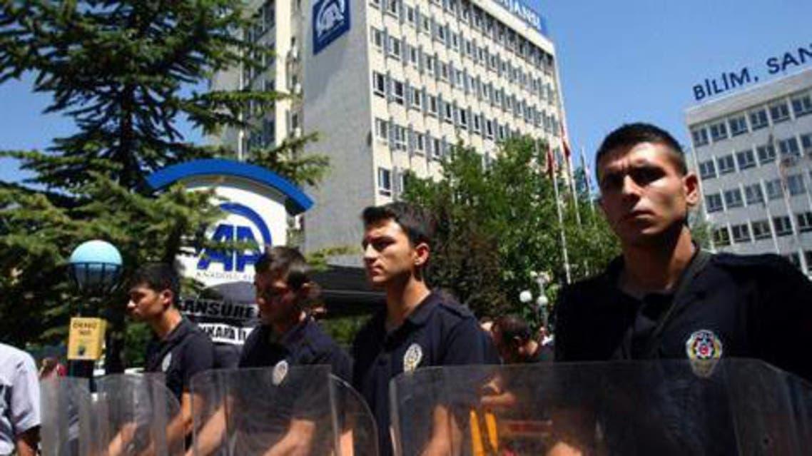 عناصر شرطة في تركيا