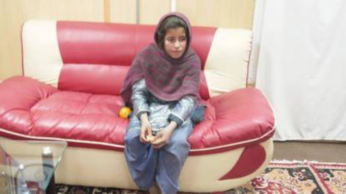 دختر انتحاری افغان