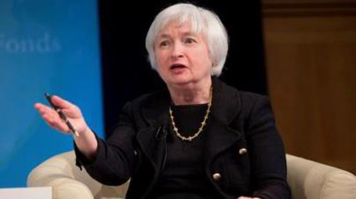 جانيت يلين رئيس بنك الاحتياطي الفدرالي الامريكي