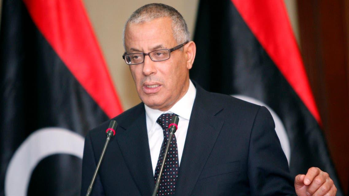رئيس الوزراء الليبي، علي زيدان