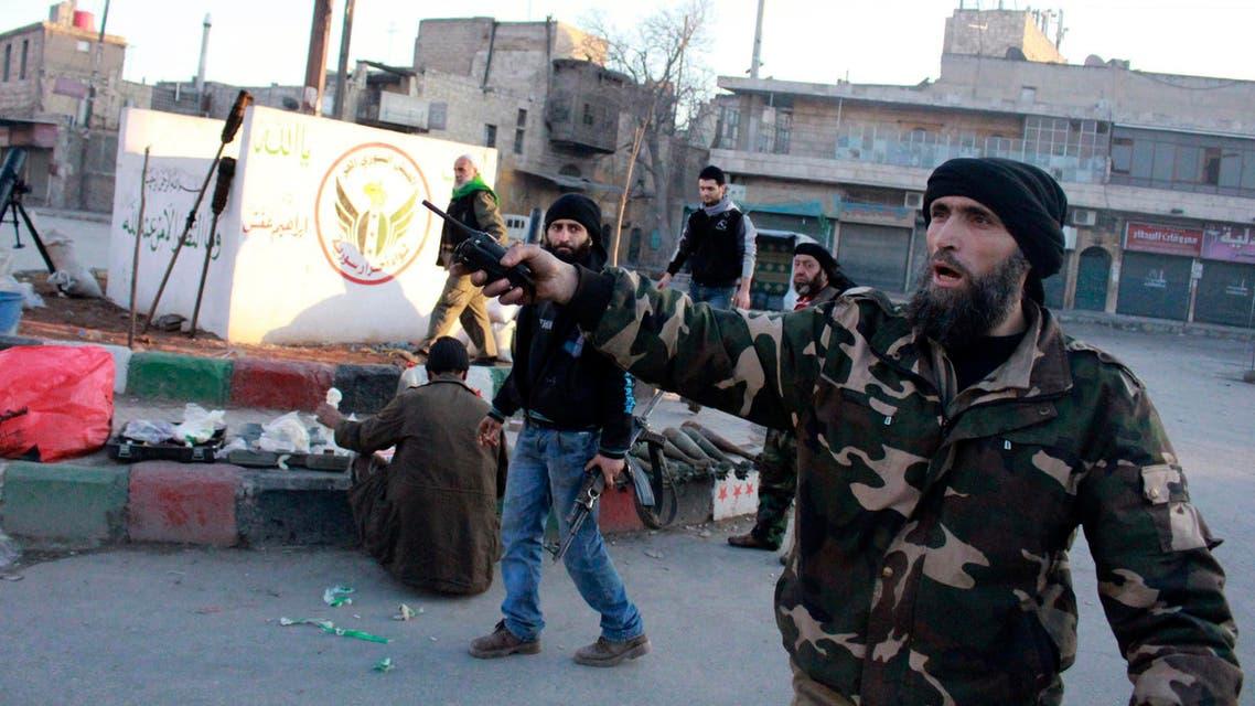 FSa in Aleppo. (Reuters)