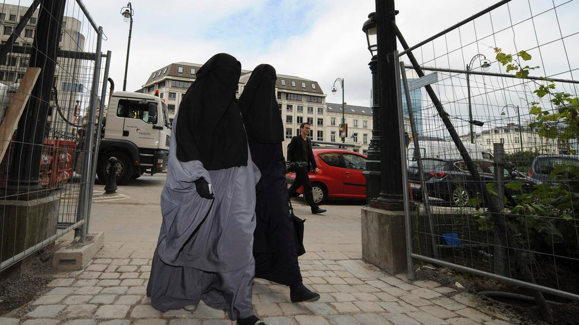 France and Belgium banned full face veils, making anyone wearing the Muslim niqab or burqa in public liable to a fine. (File photo: Reuters)