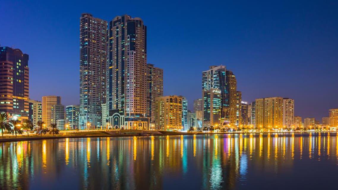 A general view of buildings at Sharjah's Buheirah Corniche. (File photo: Reuters)