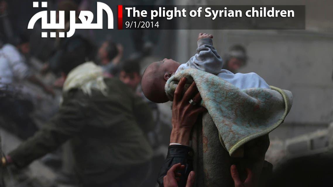 The plight of Syrian children