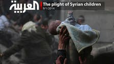 The plight of Syrian children