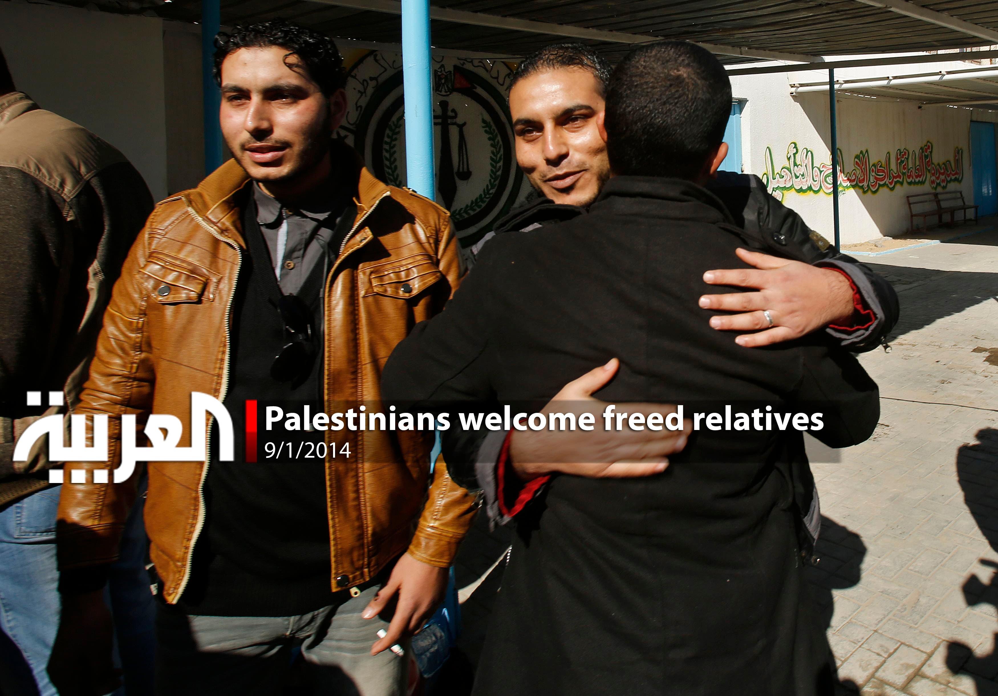 Palestine Fatah group members enjoy recent freedom