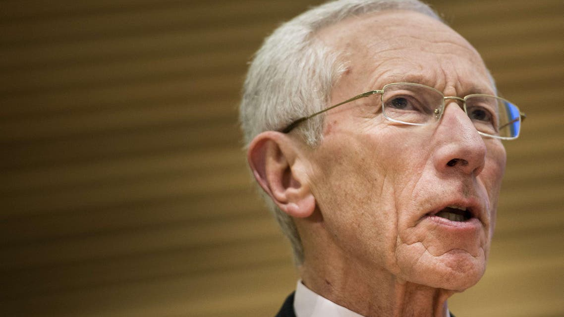 Bank of Israel Governor Stanley Fischer speaks during the Jacques Polak Research Conference in this November 8, 2013 file photo in Washington, DC. (Reuters)