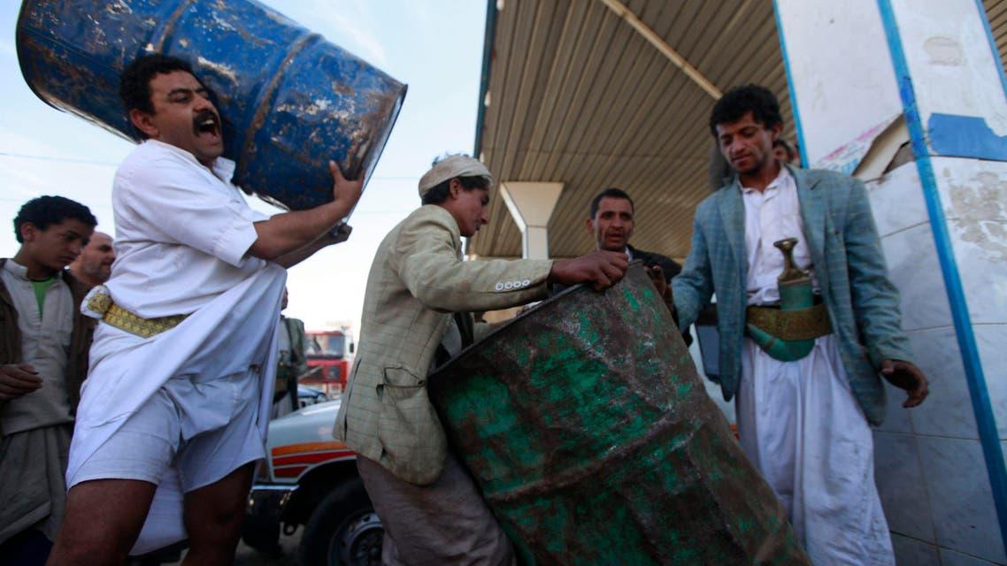 Diesel shortage in Sana'a