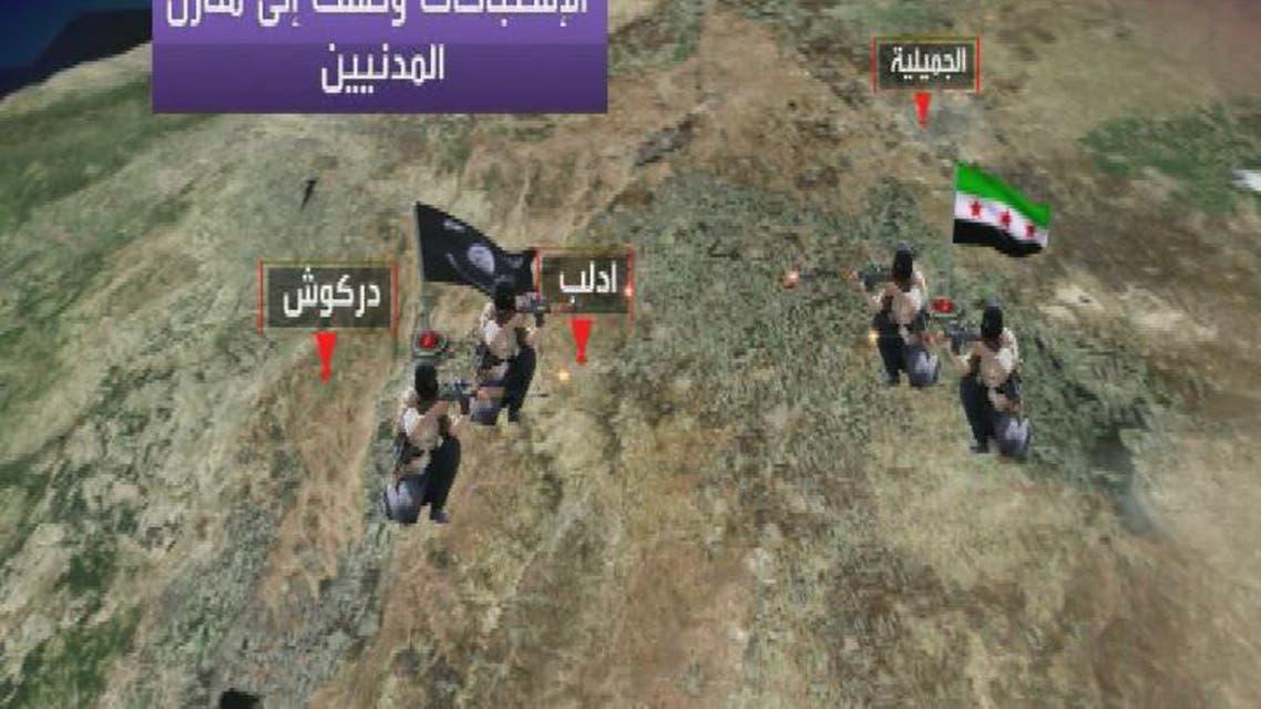 THUMBNAIL_ 500 قتيل في المعارك بين الجيش الحر وداعش