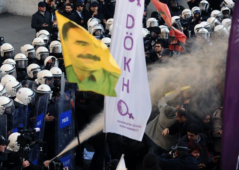 Kurds protest in Turkey