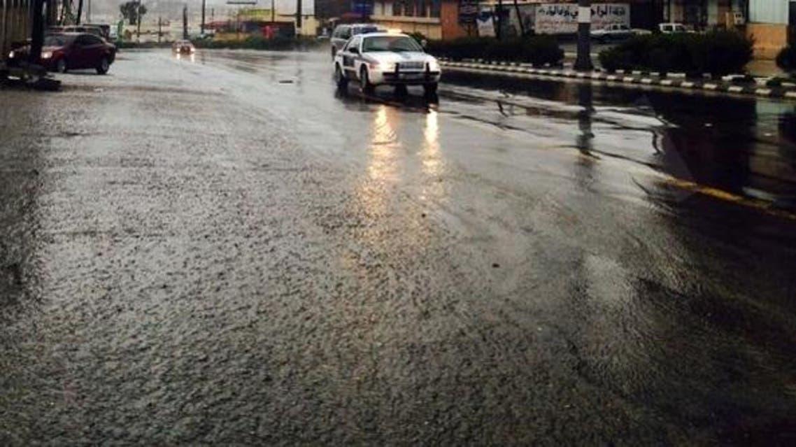أمطار الباحة في السعودية