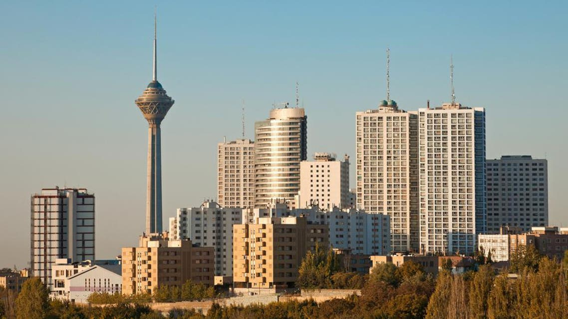 tehran skyline reuters
