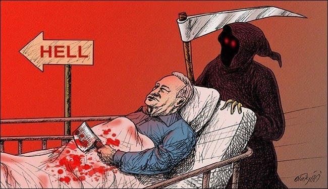 Cartoon of Ariel Sharon (Photo courtesy of Facebook)