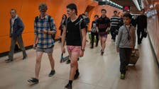 Pranksters around the world take 'No Pants Subway Ride'