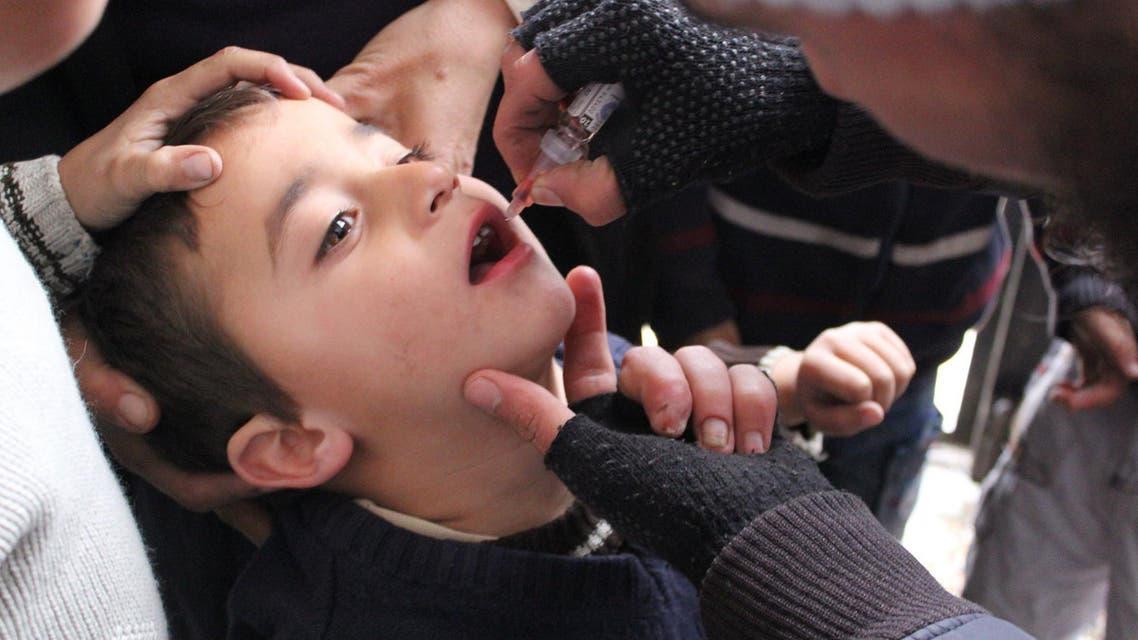 شلل الأطفال سوريا