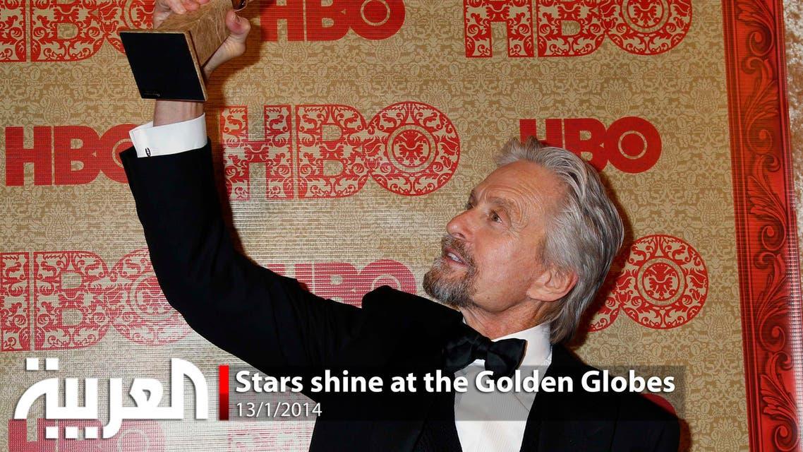 Stars shine at the Golden Globes